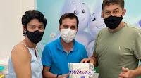 Vacina contra covid chega à Marilândia-ES.