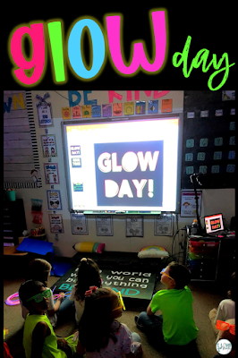 glow in the dark learning activities