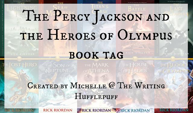 Resultado de imagen de book tag percy jackson