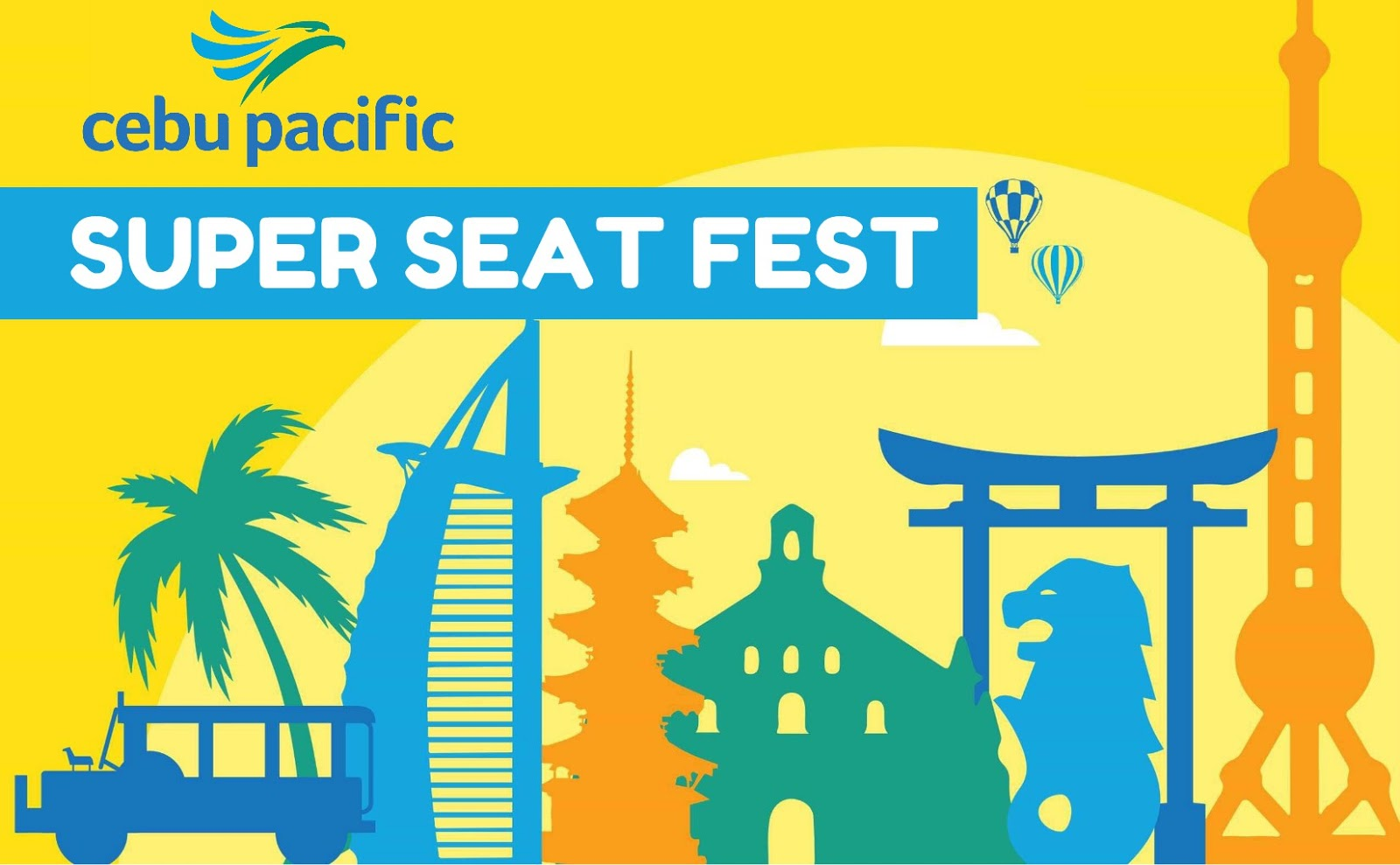 Cebu Pacific Air Super Seat Fest