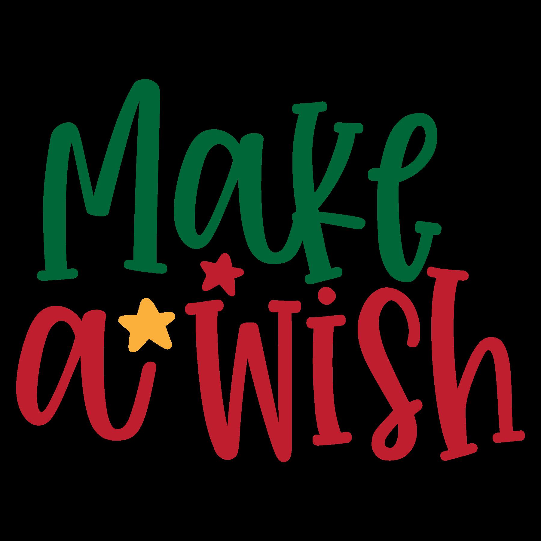 Make a Wish SVG Cut Files
