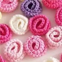 Rosa Fácil a Crochet