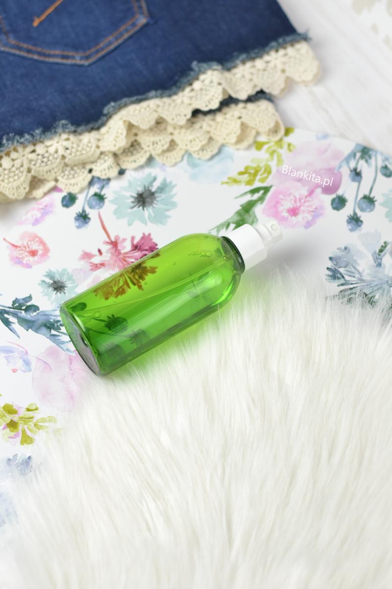 butelka z atomizerem, tonik ziaja. jak rozrzedzic tusz, zaschniety tusz do rzes