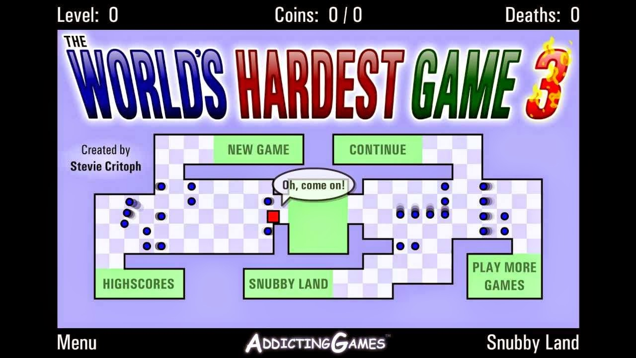 Worlds hardest games free flash games to play