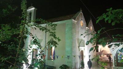 Ο ναός του Αγίου Νικολάου στην Τύλισο Ηρακλείου, παραμονή της γιορτής του Αγίου, 05.12.2018, λήψη του εξωτερικού του ναού από τα βορειοδυτικά