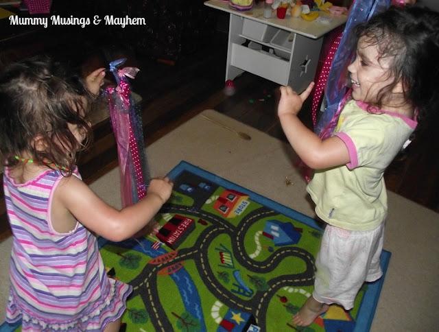 Toddler Dancing Play