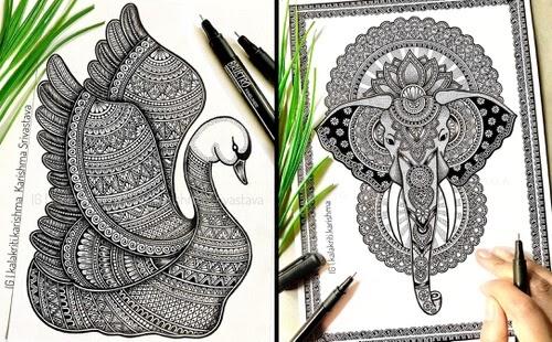 00-Mandala-Animals-Karishma-Srivastava-www-designstack-co