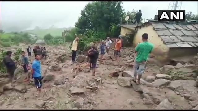 Cloudburst Damages Homes And Roads In Uttarakhand
