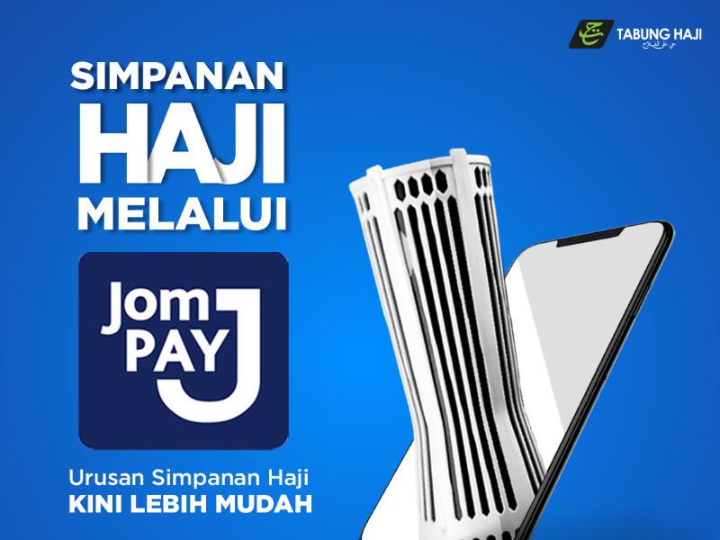 cara deposit Tabung Haji guna JomPay