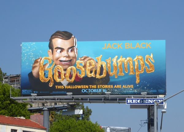 Ventriloquist dummy Goosebumps billboard