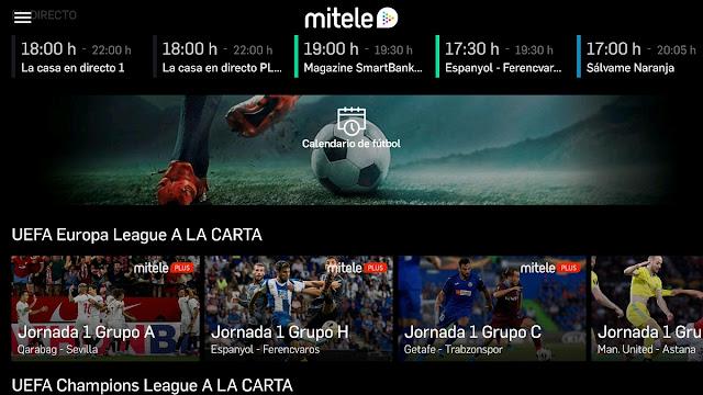 Descarga Apk app MITELE android androidtv