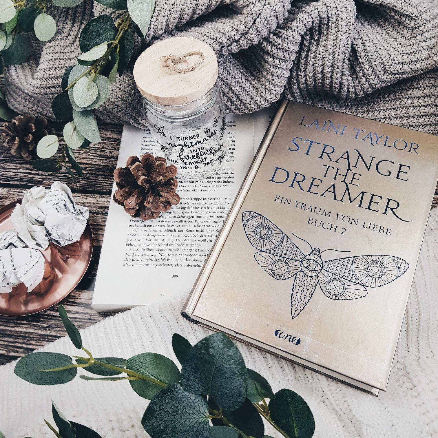 Bücherblog. Rezension. Buchcover. Strange the Dreamer - Ein Traum von Liebe (Band 2) von Laini Taylor. Fantasy. Jugendbuch.