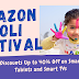 Amazon Holi Festival: Get Big Discounts Up to 40% Off