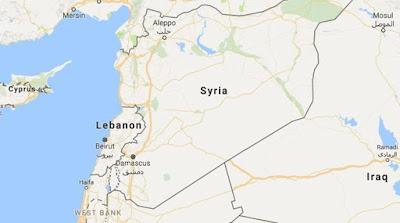 Aircraft strikes vehicle on Syrian-Lebanese border