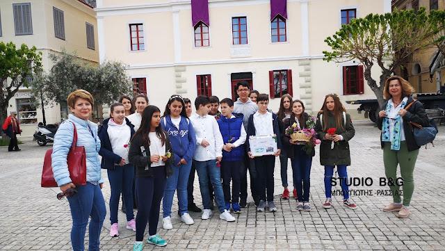 Τα κάλαντα του Λαζάρου από μαθητές του 6ου Δημοτικού Σχολείου Ναυπλίου στα παλιά σοκάκια της πόλης (βίντεο)