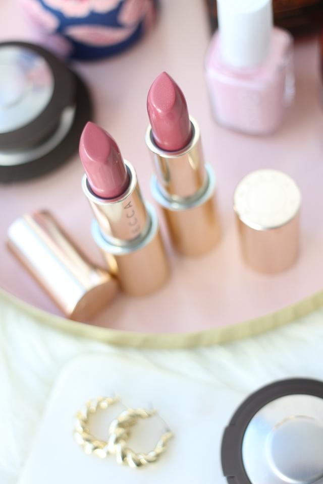 BECCA Ultimate Lipstick Love: Petal & Sorbet
