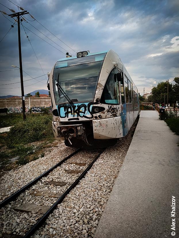 поезд в Патрах