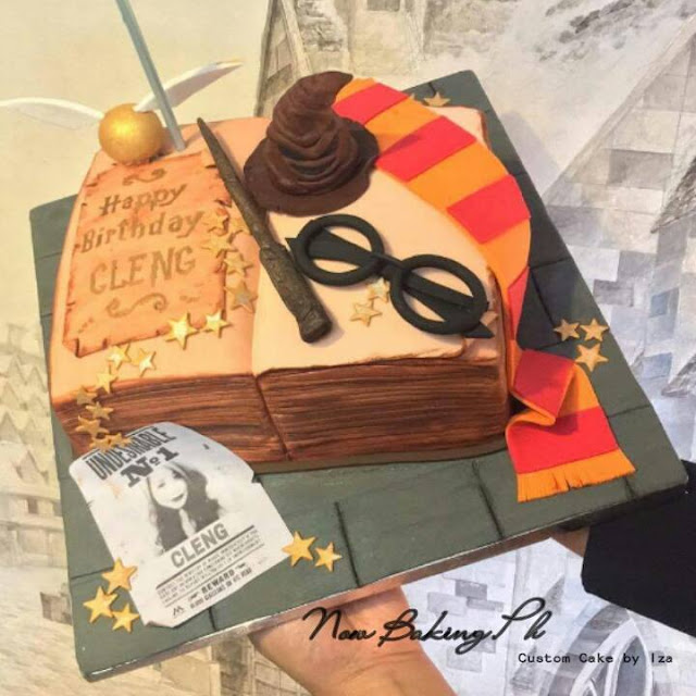 Now Baking PH, Baking 101, Personalized Cakes, Harry Potter Cakes, Wedding Cakes, Life of A, Aizha Guevarra