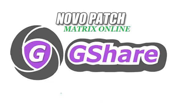 Gshare Nova Atualização Patch Keys SKS 61w - 18/05/2020