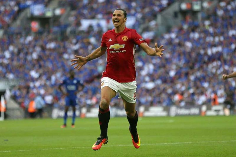 [Community Shield] Manchester United 2 - Leicester - 1: Man U win first trophy under Mourinho