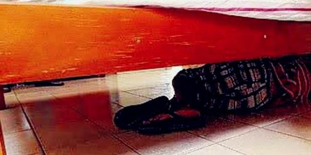Homem é encontrado debaixo da cama após agredir mulher em Bom Sucesso-PB