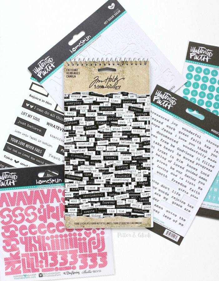 Best Stickers for Bible Journaling
