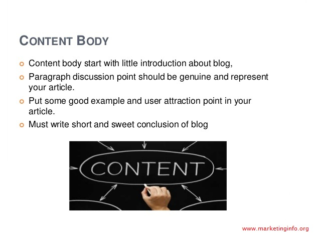 Body content for SEO