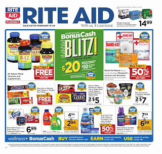 Rite Aid Weekly Ad February 18 - 24, 2018