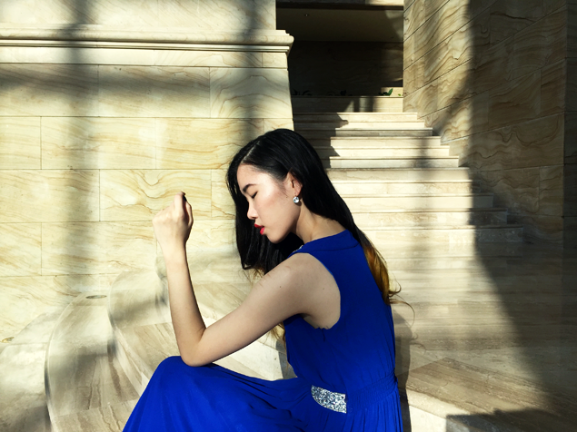 Brunei blogger May Cho THEMAYDEN Cobalt Blue Empire Hotel