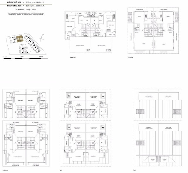 Chancery Hill Villas Floor Plans