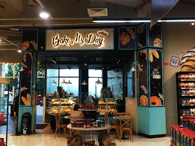 Bake My Day Coffee Shop at All Day Supermarket