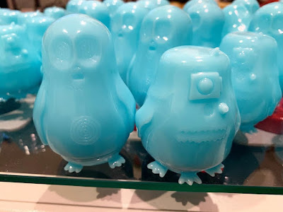 Designer Con 2019 Exclusive Drorgs Force Ghost Edition Star Wars Glow in the Dark Sofubi Figures by Nathan Hamill x Science Patrol