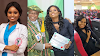 A UNIZIK medical graduate makes her mama cry as she bags 12 awards at induction (Photos)