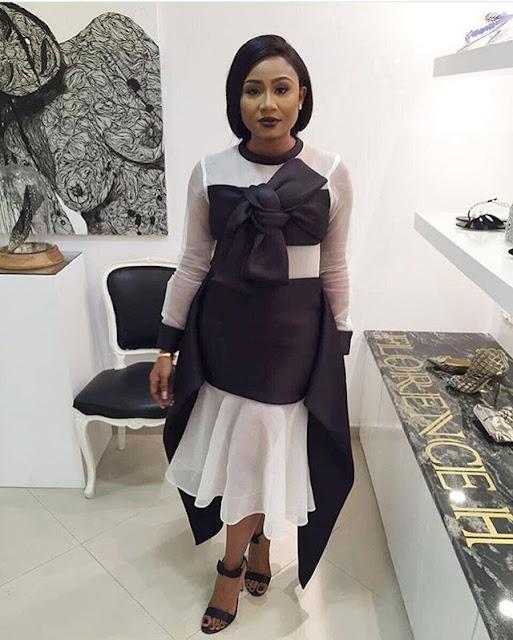 abisola kola daisi bridget awosika bow tie dress
