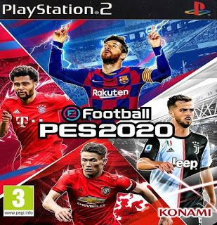 eFootball PES 2020 PS2 English Version Winter Transfers 2019/2020