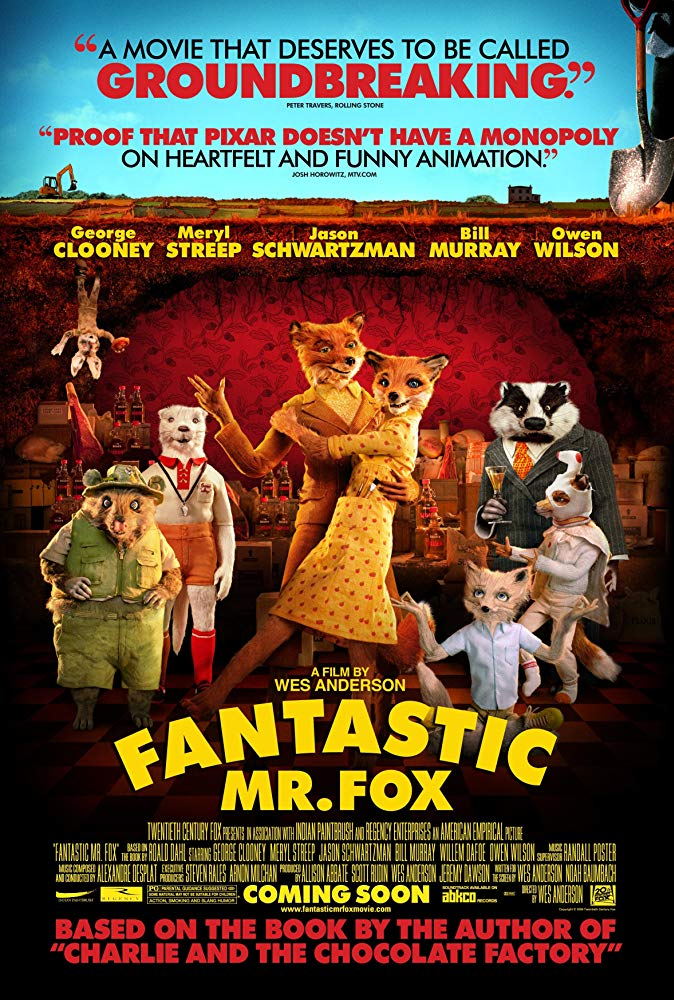 Fantastic Mr. Fox 2009 English Movie Bluray 720p With Subtitle