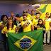 Delegação da luta de braço de MS volta do Pan-americano com 25 medalhas na babagem