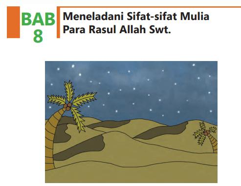 Latihan soal dan kunci jawaban buku Pendidikan Agama Islam (PAI) kelas 8 bab 5/V kurikulum 2013 revisi 2017 halaman 92-94 bagian A dan bagian B ...