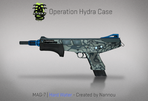 Operation Hydra Case - MAG-7 | Hard Water