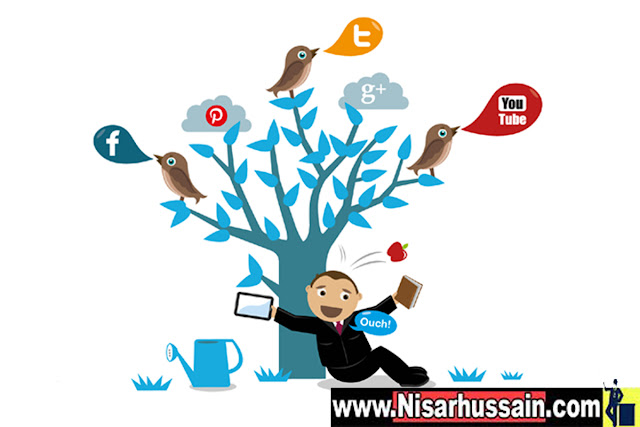 Soical media marketing strategy by www.nisarhussain.com