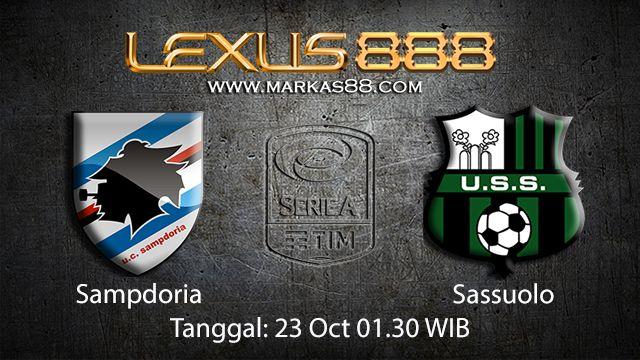Prediksi Bola Jitu Sampdoria vs Sassuolo 23 October 2018 ( Italian Serie A )
