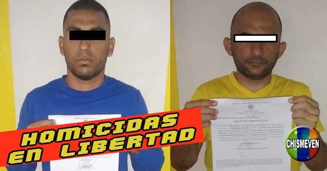 Policías liberaron a dos peligrosos homicidas conocidos com los Hermanos Santanita