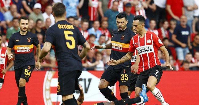 Galatasaray, PSV Eindhoven karşisinda turu zora soktu
