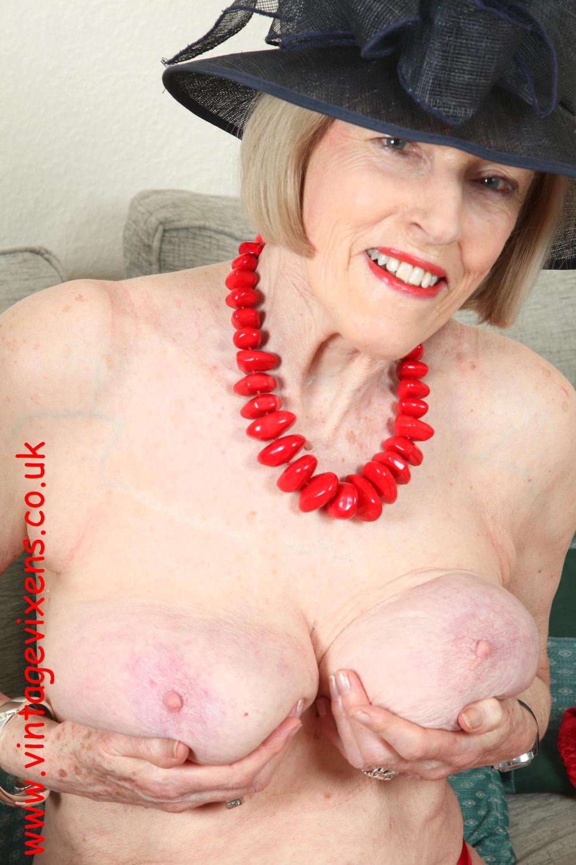 Grannies tits