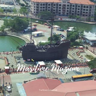 tempat wisata menarik di Melaka - maritime muzium