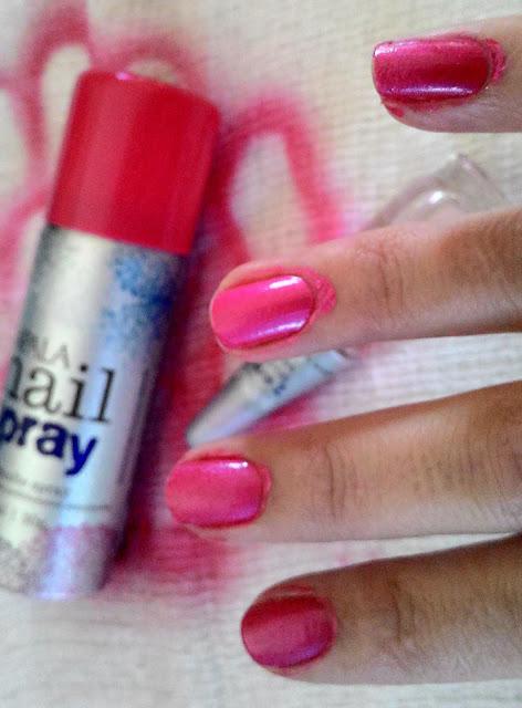 Esmalte, unhas, nail, Recebido, Publicidade, Impala, Spray, aerosol, pink, inflamavel, unha esmalte spray, mundial impala,