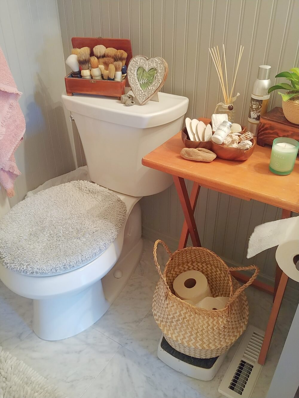 Boho Bathroom Makeover