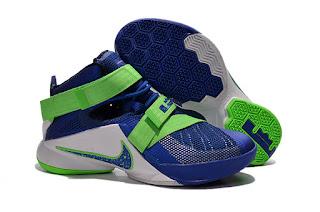Sepatu Basket Nike LeBron Soldier 9 Sprite, toko sepatu basket, jual sepatu basket, harga basket nike, nike lerbon soldier , soldier 9