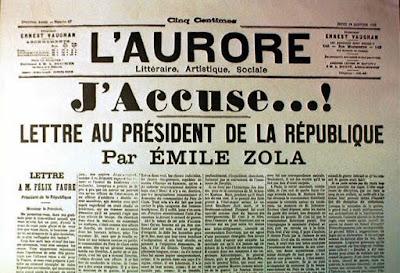Caso Dreyfus-Alfred Dreyfus-Emile Zola-Francia-periodismo