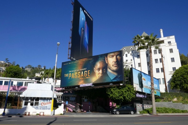 Passage series launch billboard